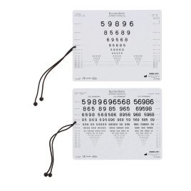 Numbers Near Vision Card