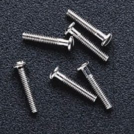 Rimless Screws, 1.4 mm x 8.0 mm