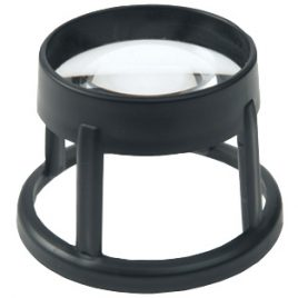 Stand Magnifier (Coil) Large Circular – 5.4x / 17.7 D