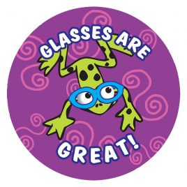Glasses are Great Stickers