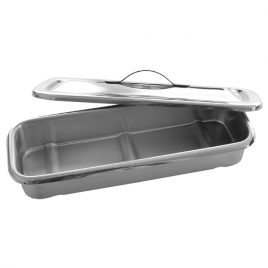 Instrument Tray with cover, large