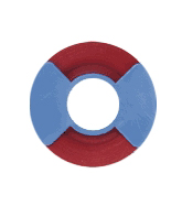 Instrument Idenfication Tape, red