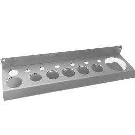 Bottle Organizer – Brushed Aluminum