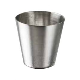 Medicine Cup, stainless steel 60 cc