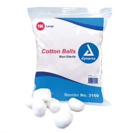 Cotton Balls, Large   1000/pkg
