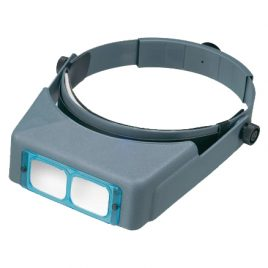 Optivisor Binocular Headband Magnifier, Magn: 1.5x at 20″
