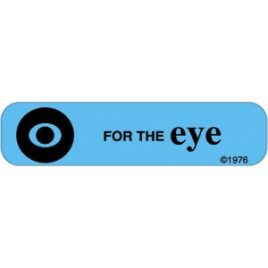 Eye Labels, General  500/roll,  2 rolls/pkg