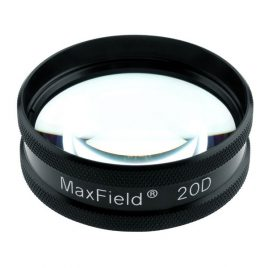 MaxField 20D Glass Aspheric Lens – Ocular Instruments