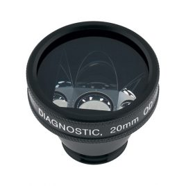 Karickhoff Diagnostic Lens, with flange