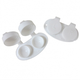 Contact Lens Cases – White 50/bag