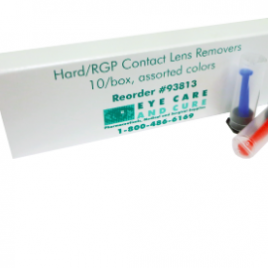 Contact Lens Remover (Hard/RGP), 3 colors, 10/pkg