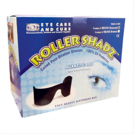 Roller-Shadz, Disposable Roll-Up Sunglasses, 100% UV Protection