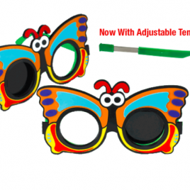 Butterfly Opaque Occluder Glasses – 2/pkg