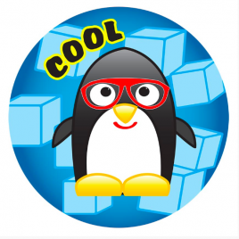 Cool Penguin Stickers