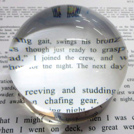 Dome Magnifier, 2 1/2″ Diameter, 4x Magnification