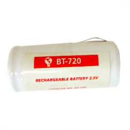 Battery for WA Ophthalmoscope Handle, red – WA Equivalent 2.5V