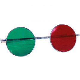 Reversible Red-Green Glasses