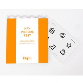 Kay Picture Test, Low Vision Book
