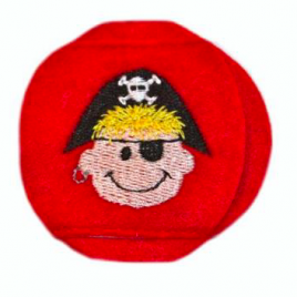Pirate Red Patch Pal