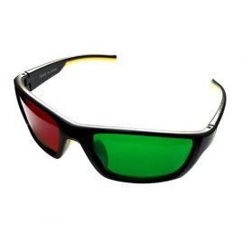 Wraparound Red/Green Glasses (Adult)