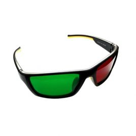Wraparound Red/Green Glasses – Reverse  (Adult)