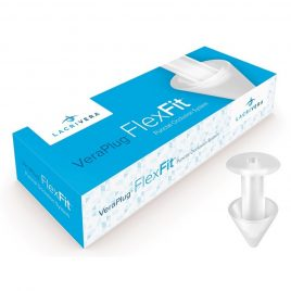 VeraPlug FlexFit, Sterile, Preloaded, 1 pair/box